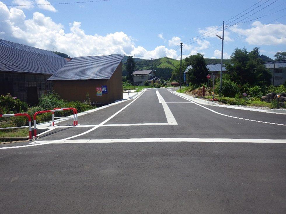 市道才ノ神欠下線 道路改良第二次工事 平成28年6月竣工